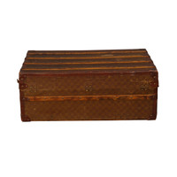 Antique French Cabin Trunk - 19th c.