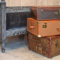 French Cabin Trunk - 19th c.
