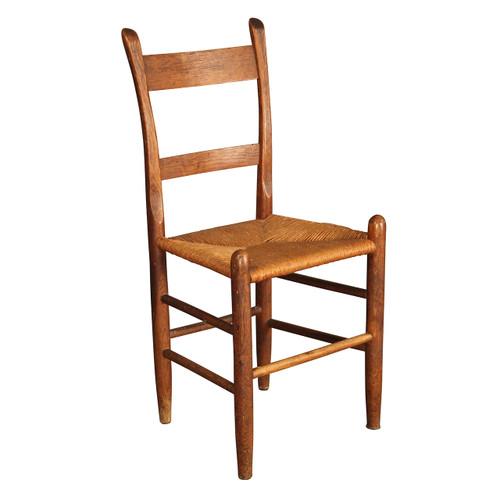 Antique Rush-Seat Shaker Chair