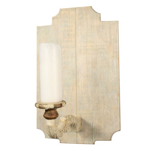 Chambray Sconce #1