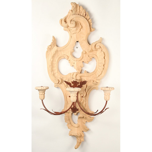 Swedish Baroque Sconce - Unfinished #2