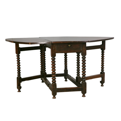 Antique English Gateleg Table, Late 18th c.