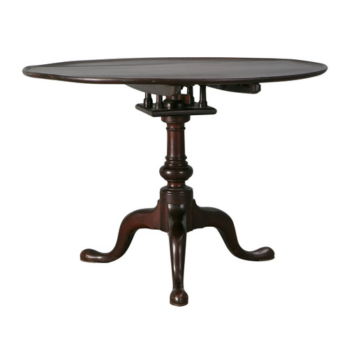 Antique Tilt-Top Table, Late 18th c.