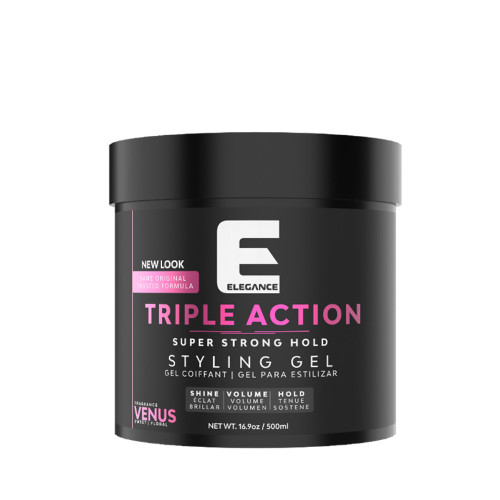 Triple Action - Super Strong Hold Hair Gel