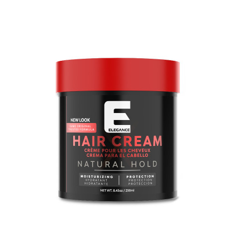 Elegance Hair Styling Cream used by professional barbers and stylist.