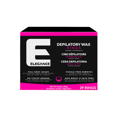 Elegance Depilatory Wax Rings