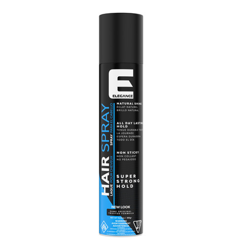 Professional hair styling gel - strong hold spray used by salons and barbershops.