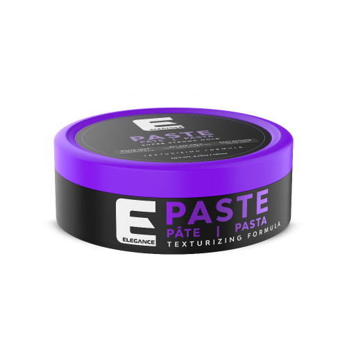 Professional use hair styling paste, matte finish.