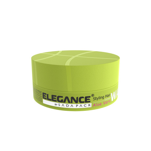 Elegance Hair Wax with natural, shiny look.
