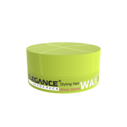 Hair styling wax with vitamins and proteins.