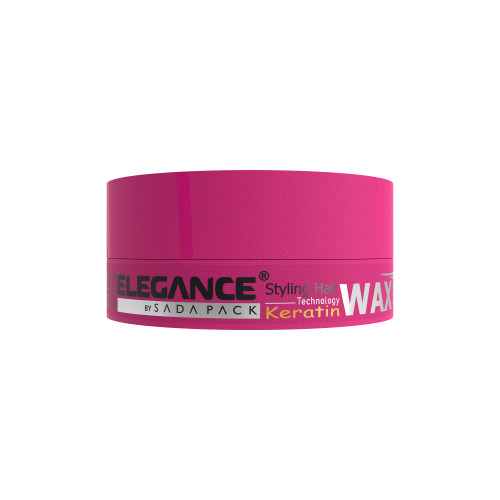 Hair wax with keratin.