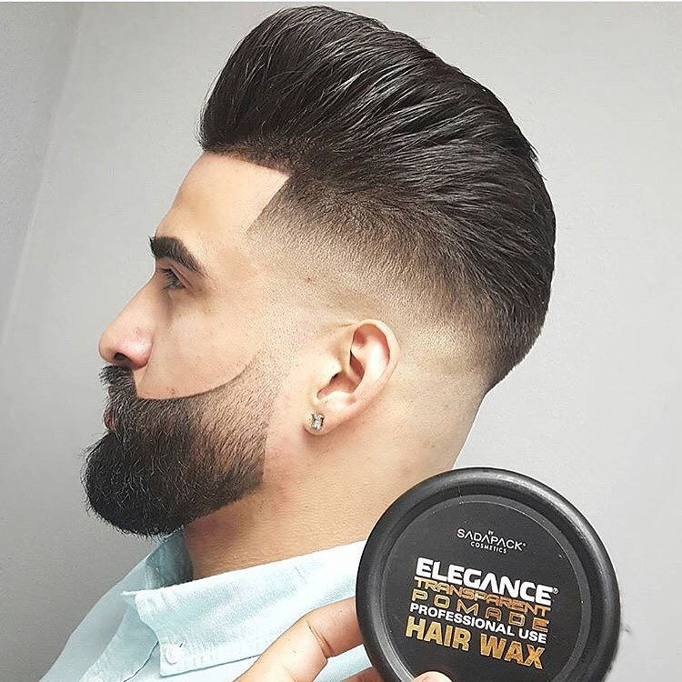pompadour hair style with pomade