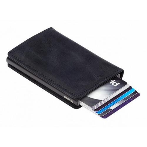 Secrid - Slim Wallet Vintage Black