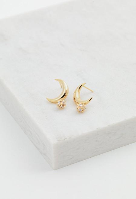 Lover's Tempo Lunar Post Earrings