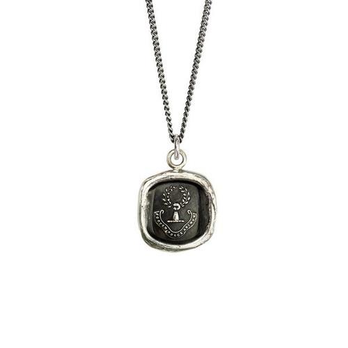 Pyrrha-Inner Strength Talisman Necklace