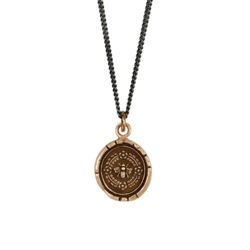 Pyrrha - Honeybee Talisman Bronze