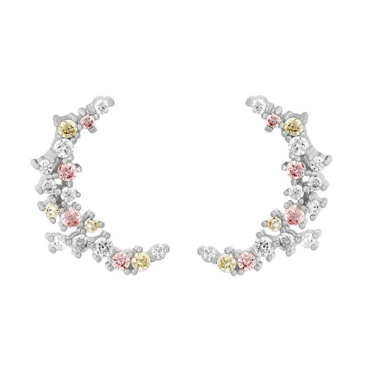 Girls Crew One &  Only Moon Earrings - Silver