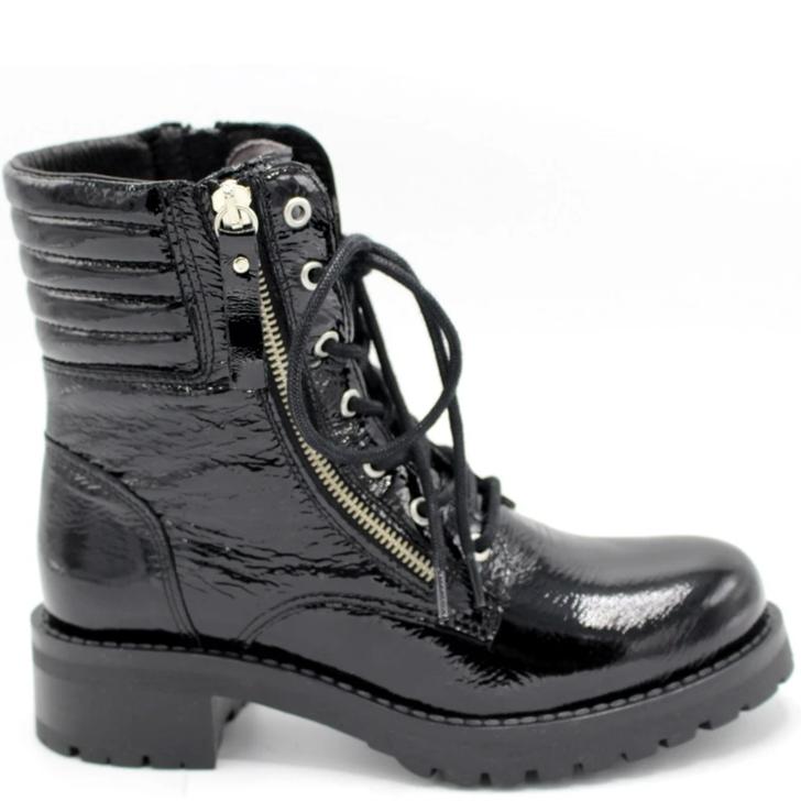 Miz Mooz Parish Boot Black Patent