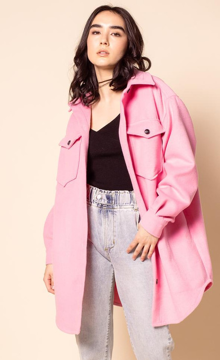 Pink Martini The Charley Coat Pink