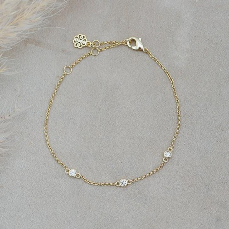 Glee Gold Plated Eve Bracelet