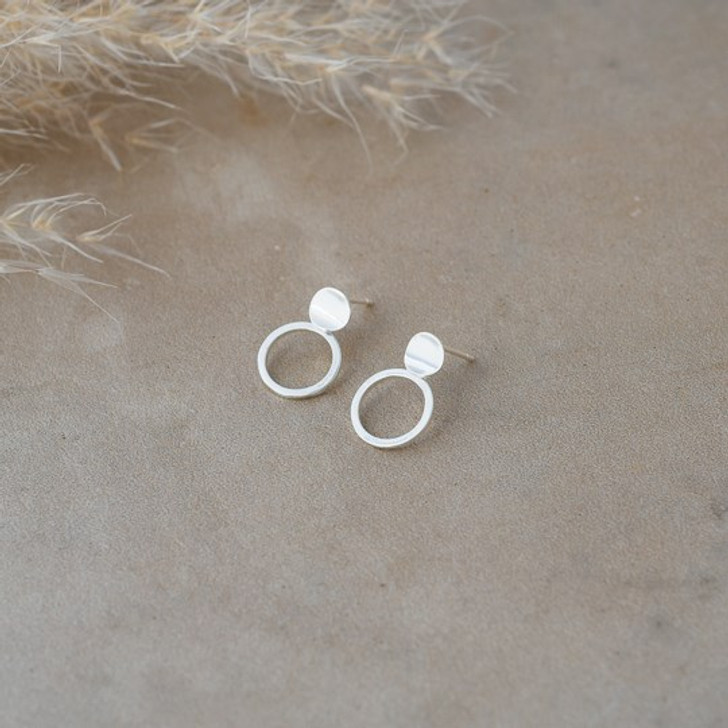 Glee Silver Plated Shiloh Studs
