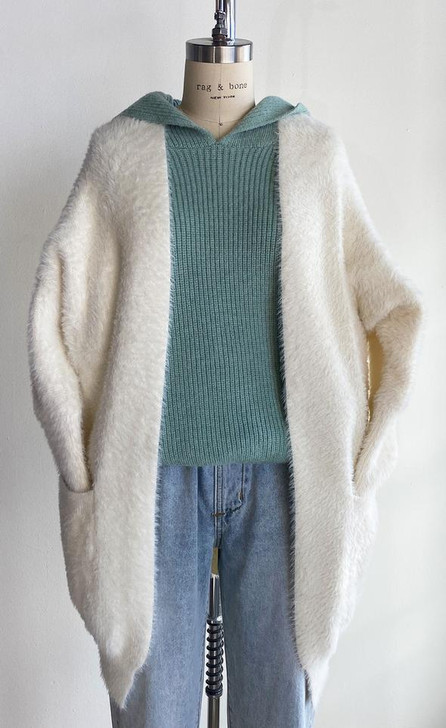 Pink Martini The Arielle Sweater Off White
