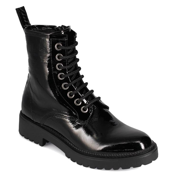Bueno Destiny Black Patent Boot