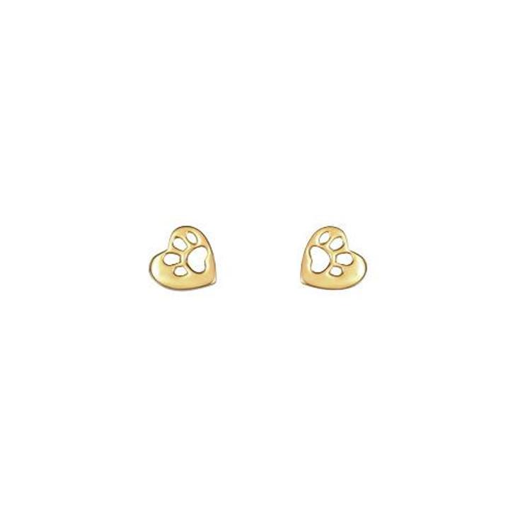 Mimi+Marge Gold Bawa Stud Earrings