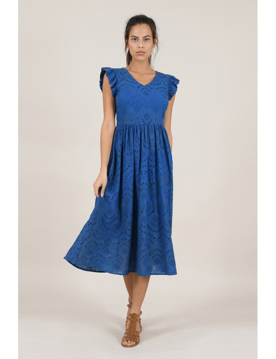 Molly Bracken - Ladies Woven Dress Premium Blue
