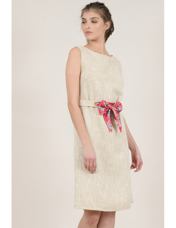 Molly Bracken - Woven Dress Premium Beige
