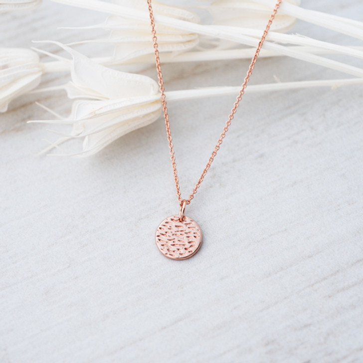 Glee Dearest Necklace Rose Gold