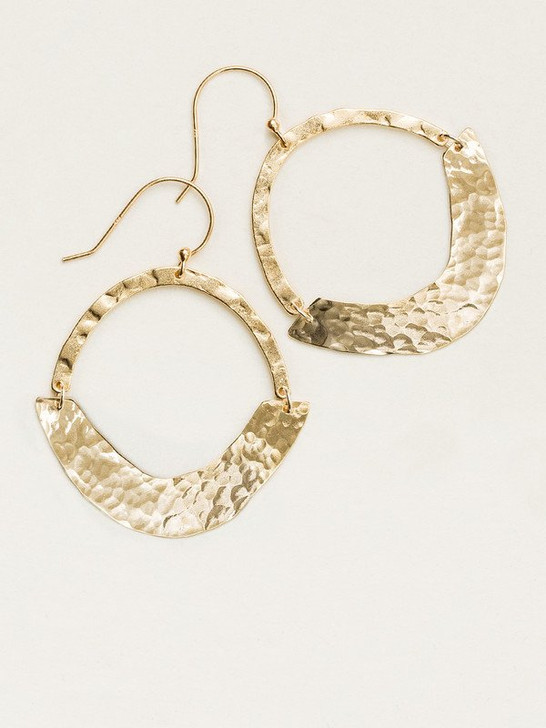 Holly Yashi Gold Iona Earrings