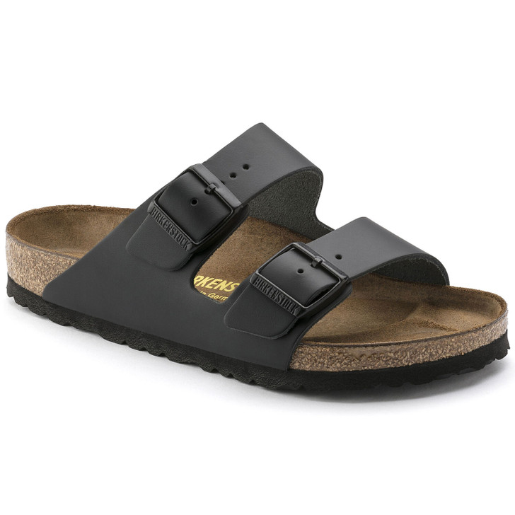 Birkenstock - Arizona Black Leather Regular