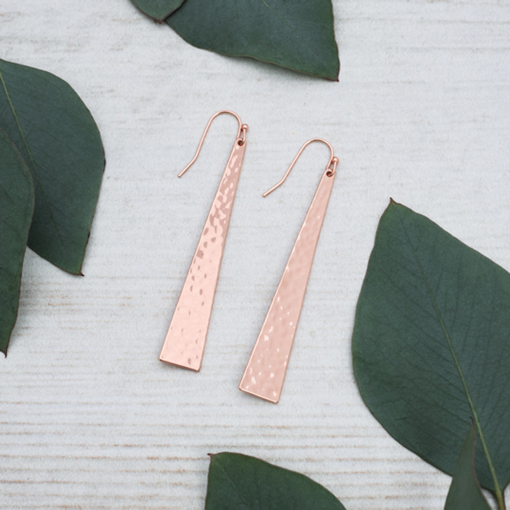 Glee Free Spirit Earrings Rose Gold