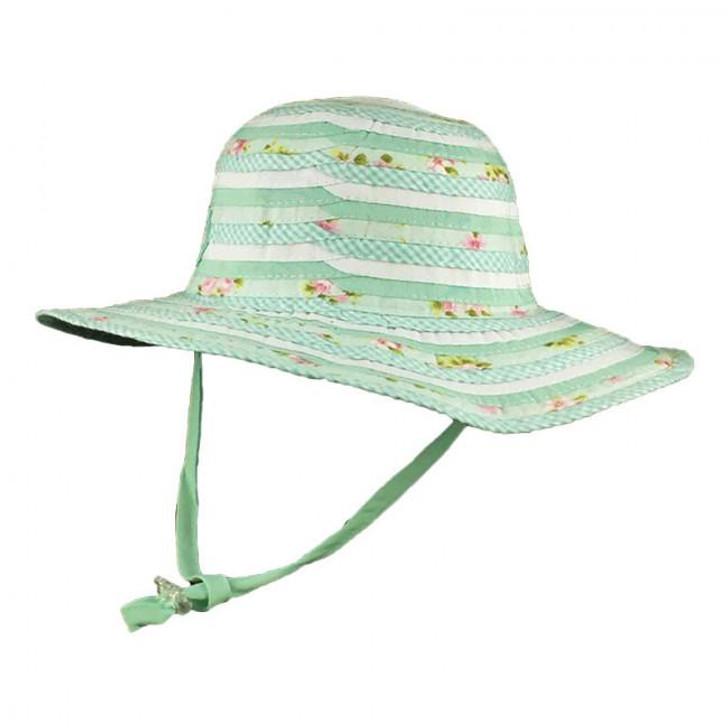 Milly Mook Hats Girls Floppy Sweetheart Mint