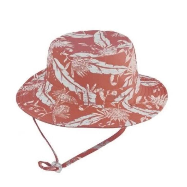 Milly Mook Hats Baby Boys Bucket Brock Rust