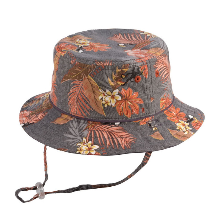 Milly Mook Hats Boys Bucket Trey Charcoal
