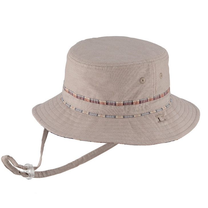 Milly Mook Hats Boys Bucket Harry Natural