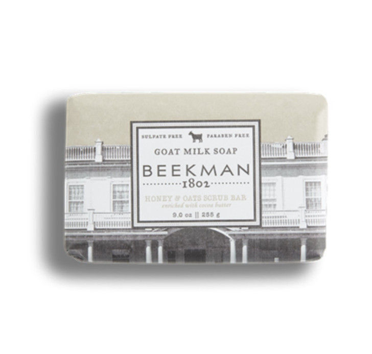 Beekman Honey & Oats Scrub Bar