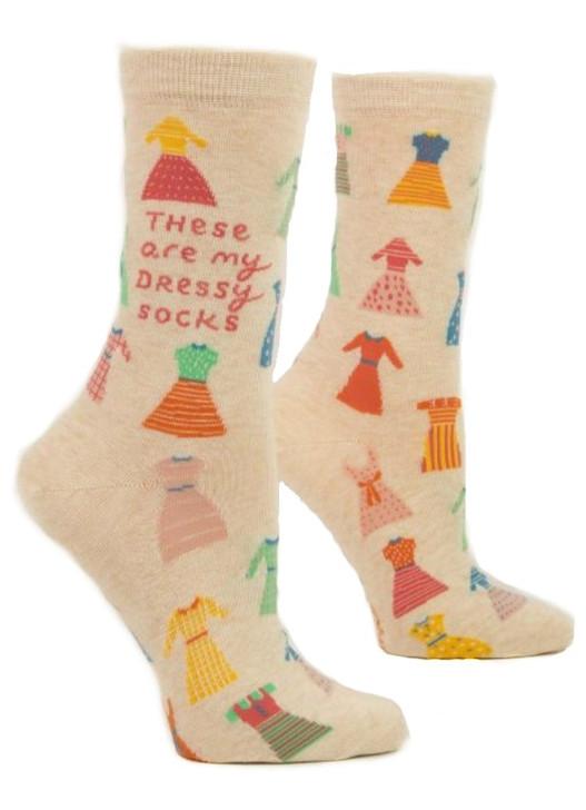 Blue Q - My Dressy Socks Crew Socks