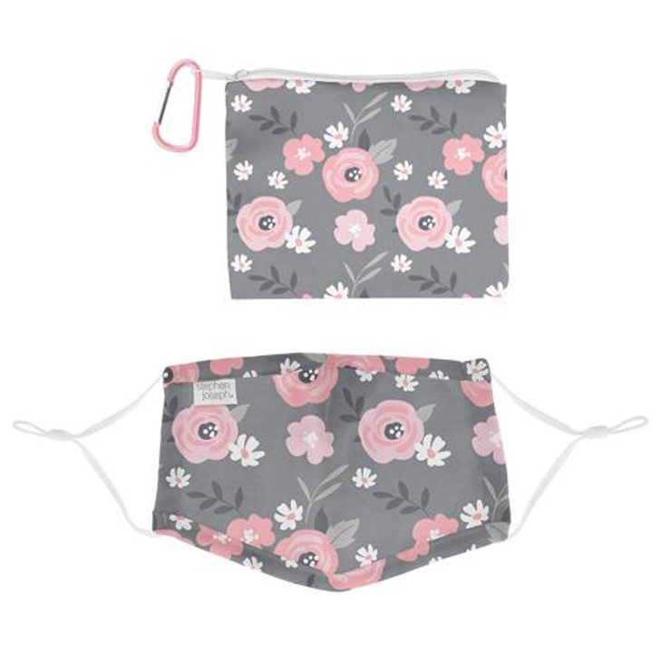 Stephen Joseph Kids Essential Mask Kit With Cotton Floral