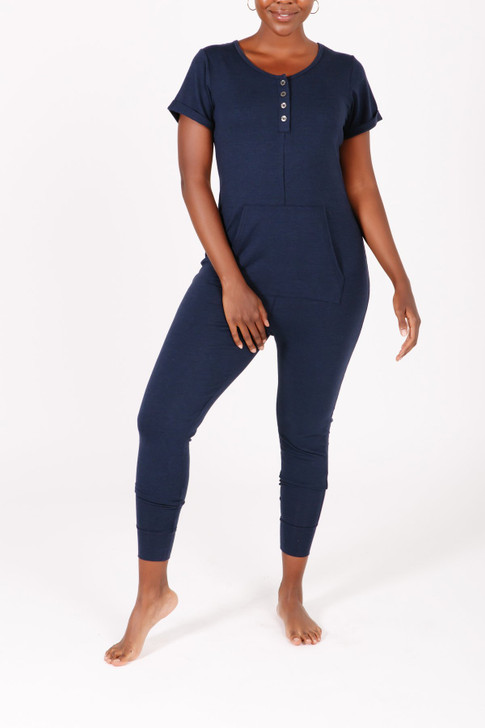 Smash & Tess The S+T Anyday Romper Naturally Navy