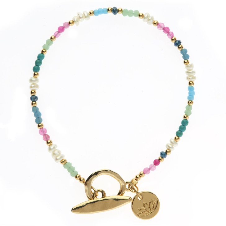 Luv & Bart Liz Bracelet Gold Plated