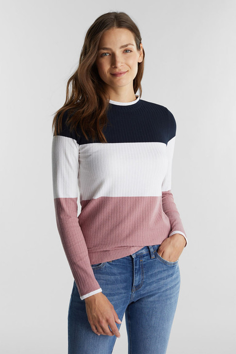 Esprit Colorblock Tee Multi