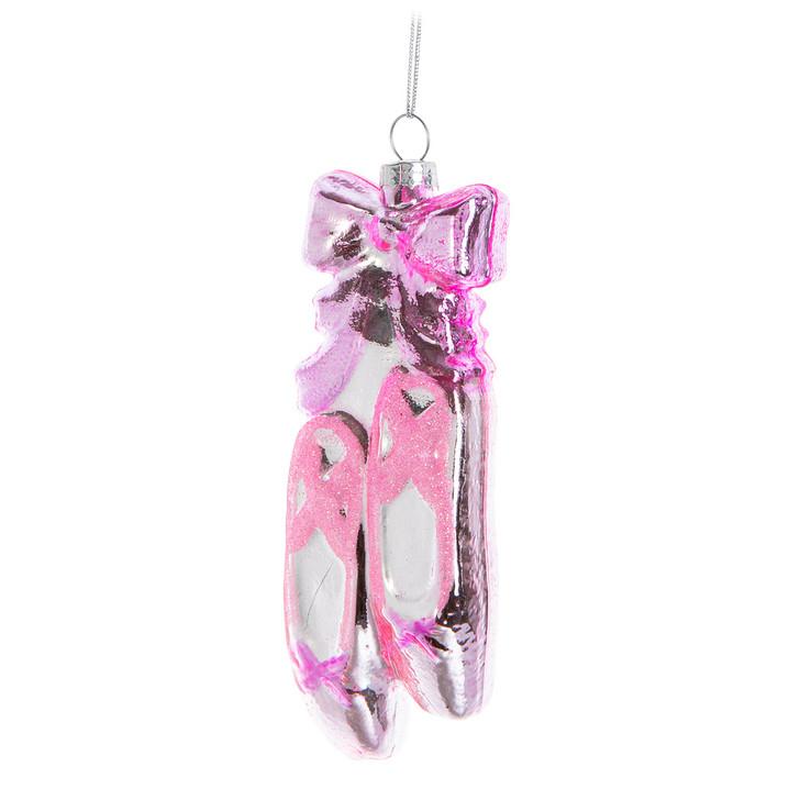 Abbott Pink Ballet Slipper Ornament