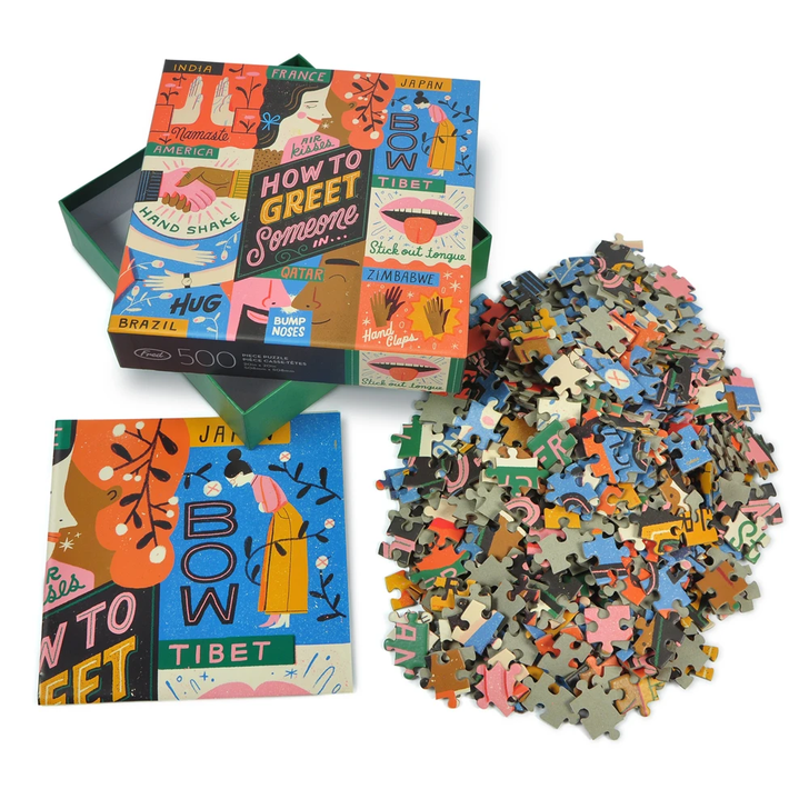 Fred & Friends Puzzle 500pc McDevitt How To Greet