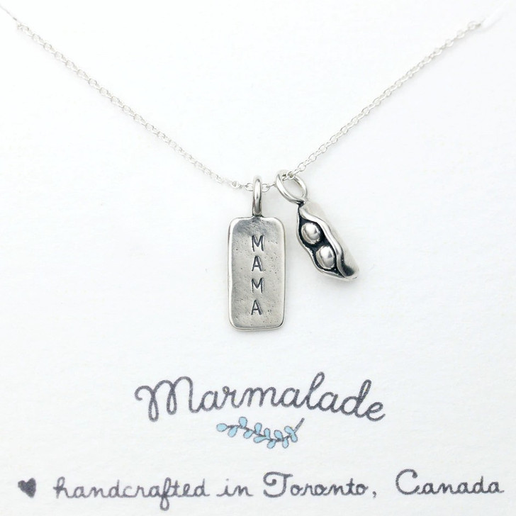 Marmalade Two Peas In A Pod Mama Necklace
