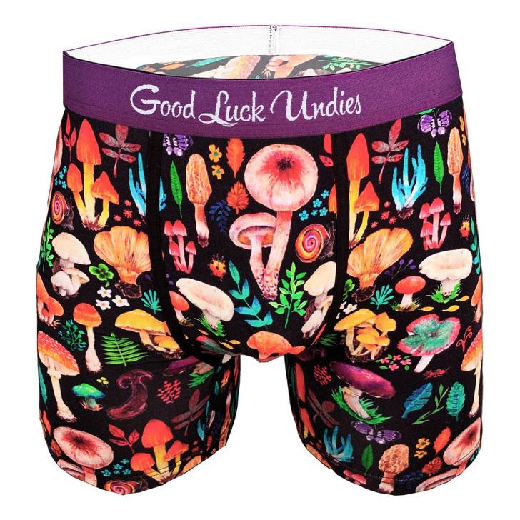 Good Luck Sock Men's Mushroom Undies