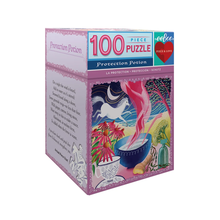 Eeboo Potion 100pc Small Puzzle Protection