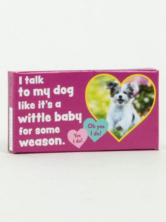 Blue Q - I Talk To My Dog Mint Gum